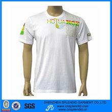 100% algodón de la camiseta de los hombres