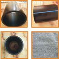 Tuyau d'eau en plastique de vente chaude polyéthylène HDPE