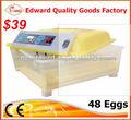 48 Яйца мини-инкубатор полностью автоматический курица мини-инкубатор для продажи