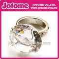 venta al por mayor 2014 grande de cristal de diamante anillos de la servilleta para la decoración de la boda