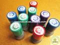 Sello de caucho personalizado materiales oficina sello de goma sello titular/mango de plástico sellos