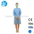 Amostras grátis chineses mais recentes projetos vestido descartáveis para medicina