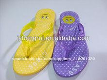 el estilo del fashional zapatillas de goma flip flops