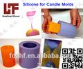 vela de silicona moldes de silicona líquida