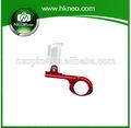Gopro neopine accesorios de la cámara de aleación de aluminio manillar de la bicicleta para gopro hero3/3+