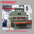 de ciclo corto de melamina de laminación en caliente de la máquina de la prensa