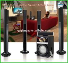 Todo en un mejor ventas de la moda modelo 5.1 de cine en casa con reproductor de DVD QGN09