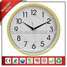 creativo de la pared del reloj para la promoción