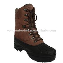 a prueba de agua militares botas botas de los hombres para el invierno con forro extraíble 69056