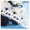 costumbre hermoso encaje bordado recortar para decorativo prenda