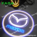 auto coche fantasma el logotipo de la sombra de luz del coche del logotipo del proyector de luz