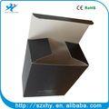 cuadrado negro de papel kraft para colorear impreso caja de cartón pequeña venta caliente