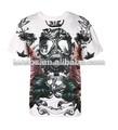 Verano 2014 estambul led activado por sonido personalizado fresco de impresión t- shirt