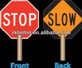 de parada de aluminio señales de seguridad