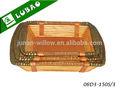 baratos plaza grande hecho a mano plana de madera en seco bandeja de la fruta