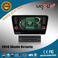 nuevo 2014 Skoda Octiva sistema de navegación GPS de radio
