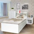 Alta qualidade cama de casal madeira com gavetas sf-29r