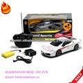 EL coche eléctrico del rc, coche de carreras de juguetes
