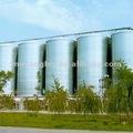 silos de almacenamiento de cereales