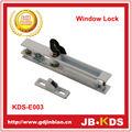 Aleación de zinc de alta calidad de bloqueo de ventanas de aluminio
