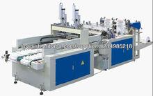 HSRQ-400X2 corte bolso del chaleco de calor completamente automático que hace la máquina