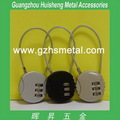 moda caliente venta de equipaje de níquel de metal mini bloqueo con contraseña