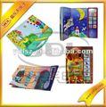 2014 de alta calidad de sonido libro/libro de música para baby