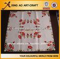 Nuevo 2013 100% diseño de poliéster bordado de paños de mesa mantel