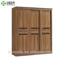 Nouveaux meubles en bois porte coulissante placard chambre armoire. 20831