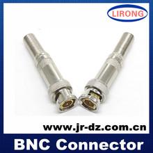 jr cctv bnc coaxial conector coaxial