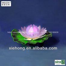 la moda flor de loto de luz decorativos de luz de loto para café de la tienda