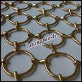 Anping lutong hermoso anillo de metal decorativos cortinas, material de decoración de la cortina del anillo