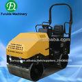 Fyl-900 motor diesel de cilindro duplo hidráulico passeio no rolo vibratório