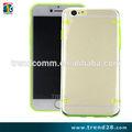 novo produto de capa dura transparente para iphone 6+
