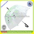 a china fábrica guarda-chuva/cúpula barato transparente crianças guarda-chuva