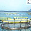 redonda flutuante para a gaiola de peixe hdpe frame