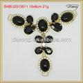 shbu2013611 sandalia de moda de diamantes de imitación y accesorios para dama de zapatos de la cadena