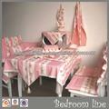 Ropa Mantel de Mesa Estampado de Flores/Juego de Articulos para Hogar/Ropa de sillón y Micro Ondas y Guantes