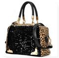 2014 venta caliente marca bolso de mujer de color elegante impresión bolsos de imitación de venta al por mayor