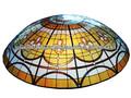 tiffany cúpula de vidrieras para la iglesia