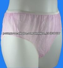 Cuecas descartáveis, senhoras moda calcinha, breve sexy, produto do sexo
