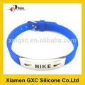 chaude design nike bracelets en silicone avec la chine fournisseur
