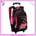 2014 Nuevo diseño mochilas escolares con ruedas