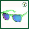 gafas de sol 2014 de la vendimia retro con marco verde azul espejo gafas