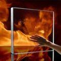 calor resistente al fuego de vidrio templado hueco
