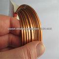 alambre de aluminio de colores planos