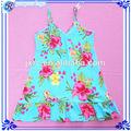 flor menina vestido de uma peça de meninas vestidos de festa para as meninas de sete anos de idade
