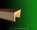 RD poliuretano decorativas imitación vigas de madera