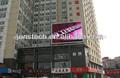 p10mm led panel de la pantalla al aire libre con signos y el módulo