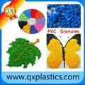 materia prima de plástico de pvc para la envoltura de cable